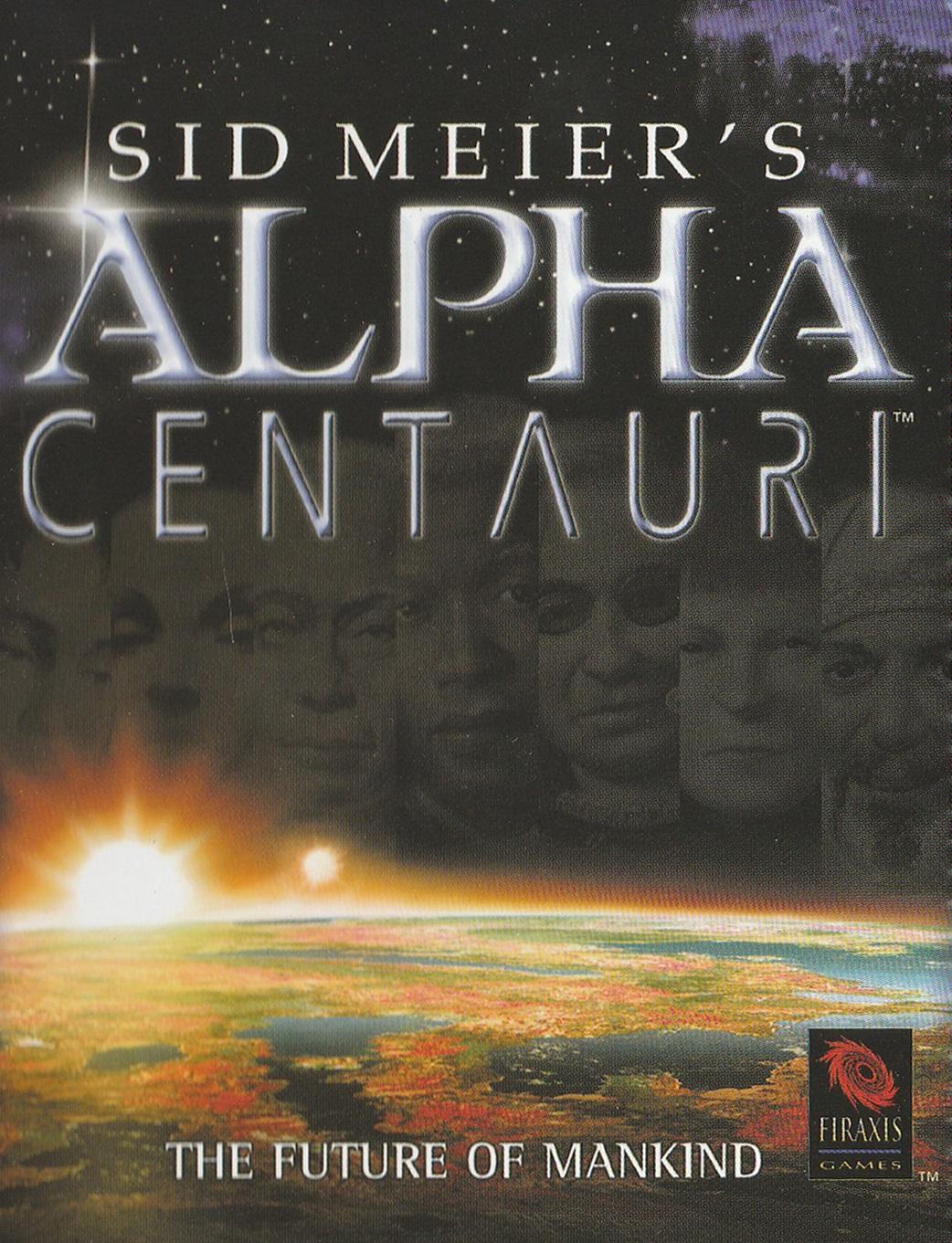 Sid Meier's Alpha Centauri cover