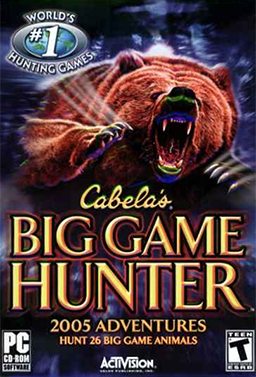 Cabela's Big Game Hunter 2005 Adventures cover