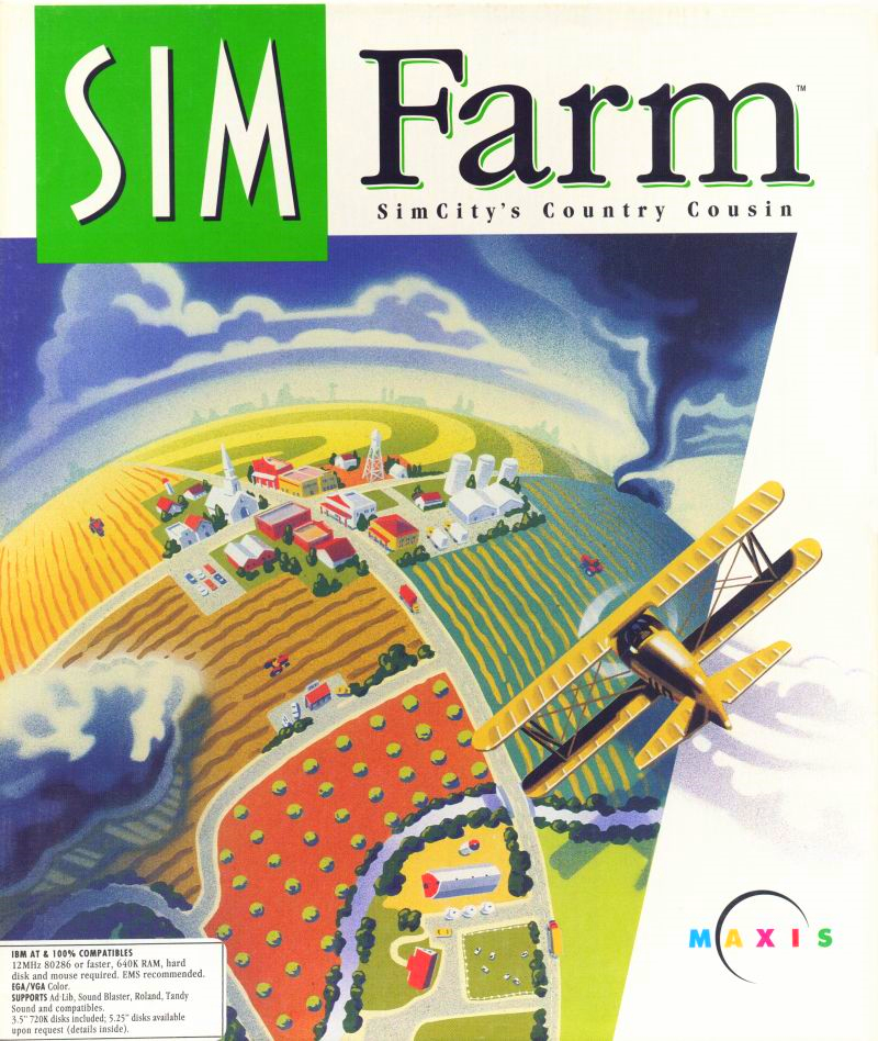 SimFarm: SimCity's Country Cousin cover