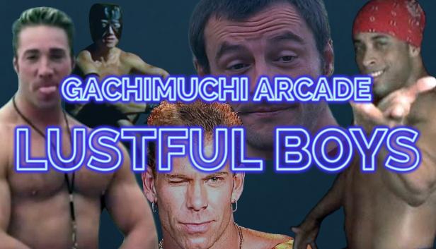 Gachimuchi Arcade: Lustful Boys cover