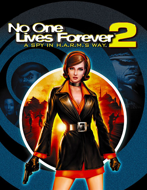 No One Lives Forever 2: A Spy in H.A.R.M.'s Way cover