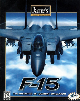 Jane's F-15 cover
