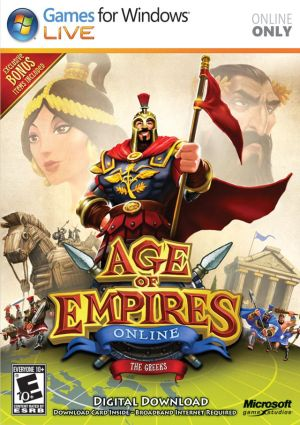 Age of Empires Online cover