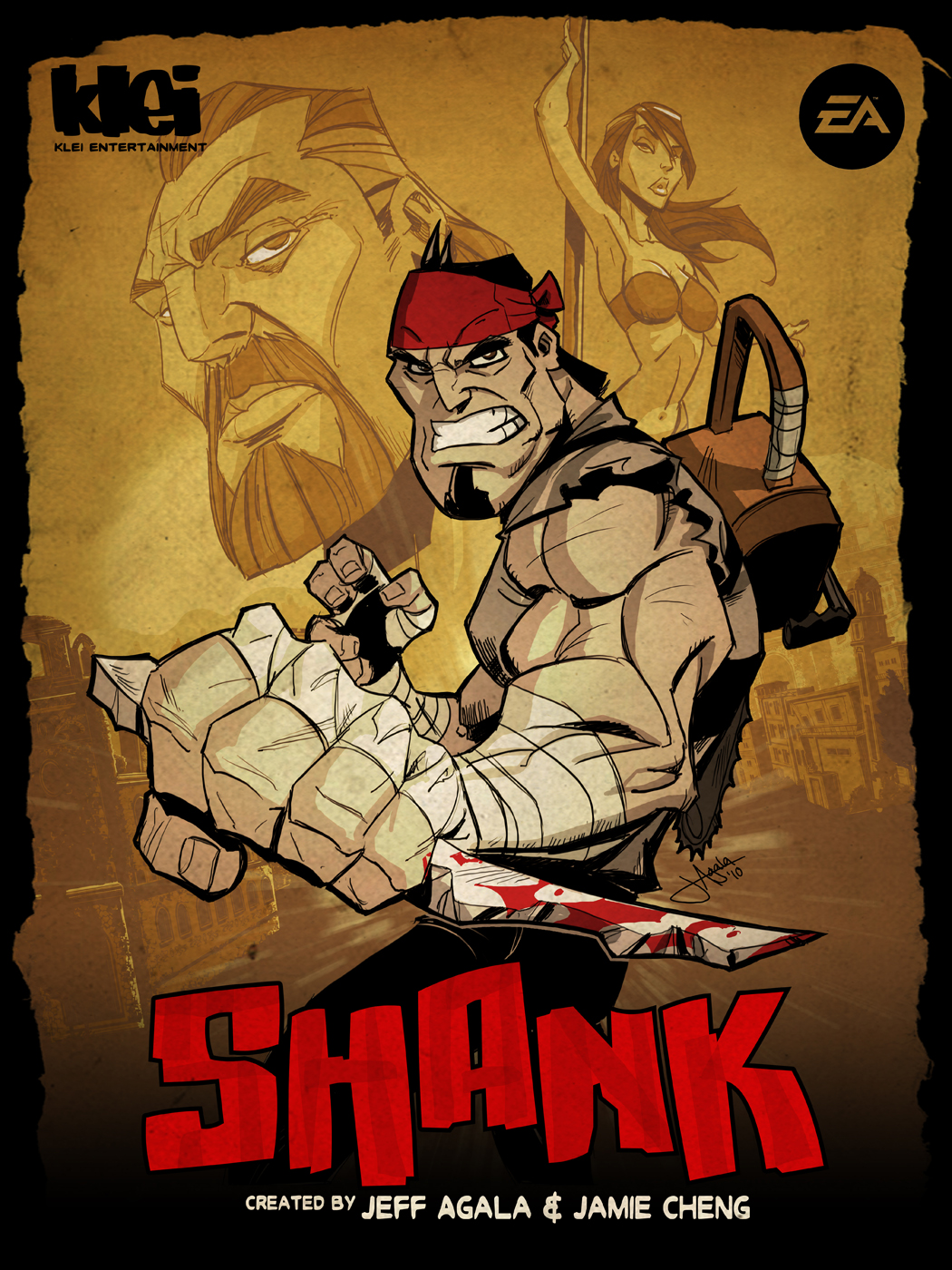 Shank cover