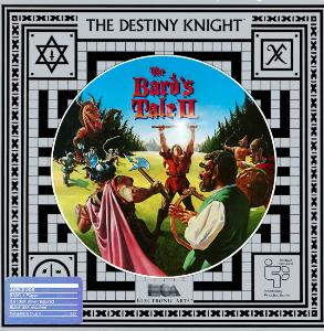 The Bard's Tale II: The Destiny Knight cover