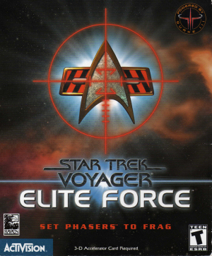 Star Trek: Voyager - Elite Force cover