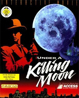 Tex Murphy: Under a Killing Moon cover