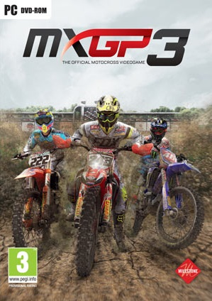 MXGP3 - The Official Motocross Videogame cover