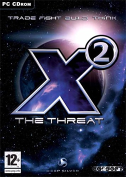 X2: The Threat cover