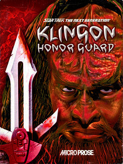 Star Trek: The Next Generation - Klingon Honor Guard cover