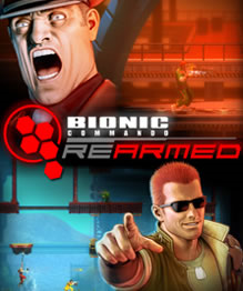 Bionic Commando Rearmed cover