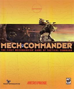 MechCommander cover