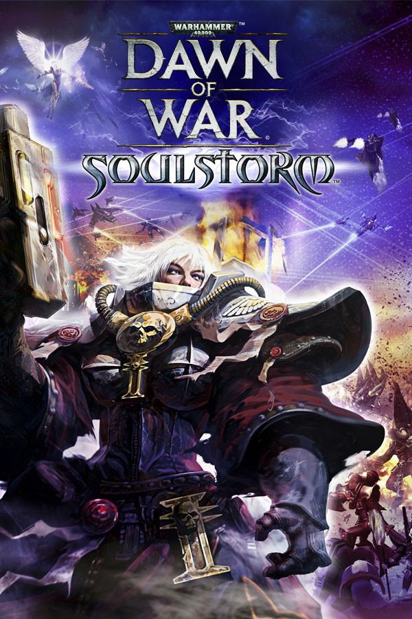 Warhammer 40,000: Dawn of War: Soulstorm cover