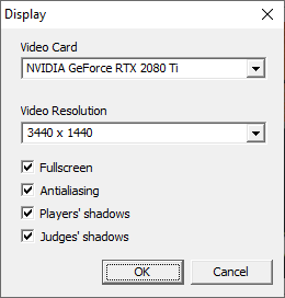 Display settings found in <path-to-game>\Top Spin\Launcher.exe