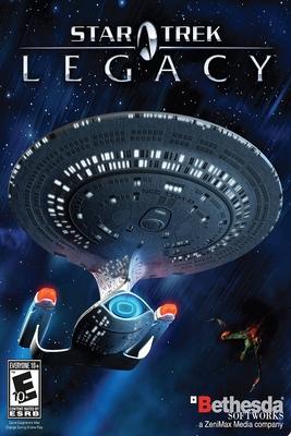 Star Trek: Legacy cover