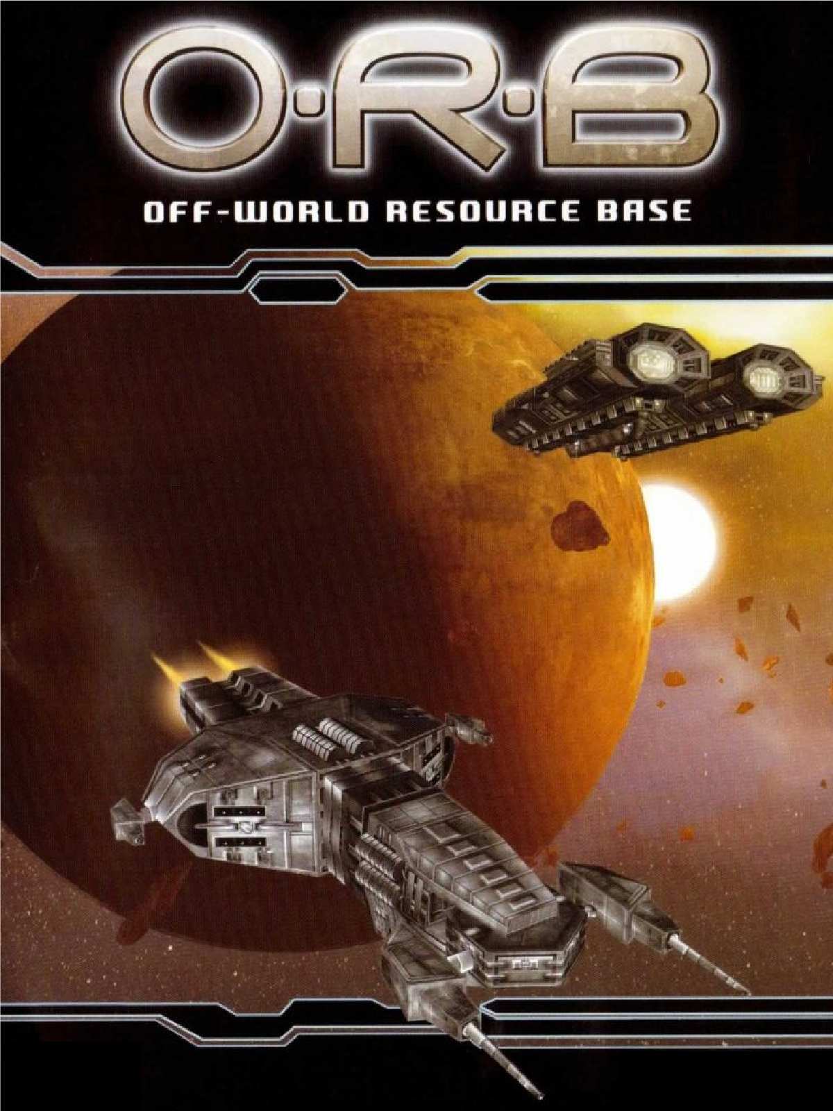 O.R.B: Off-World Resource Base cover