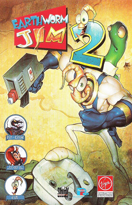 Earthworm Jim 2 cover