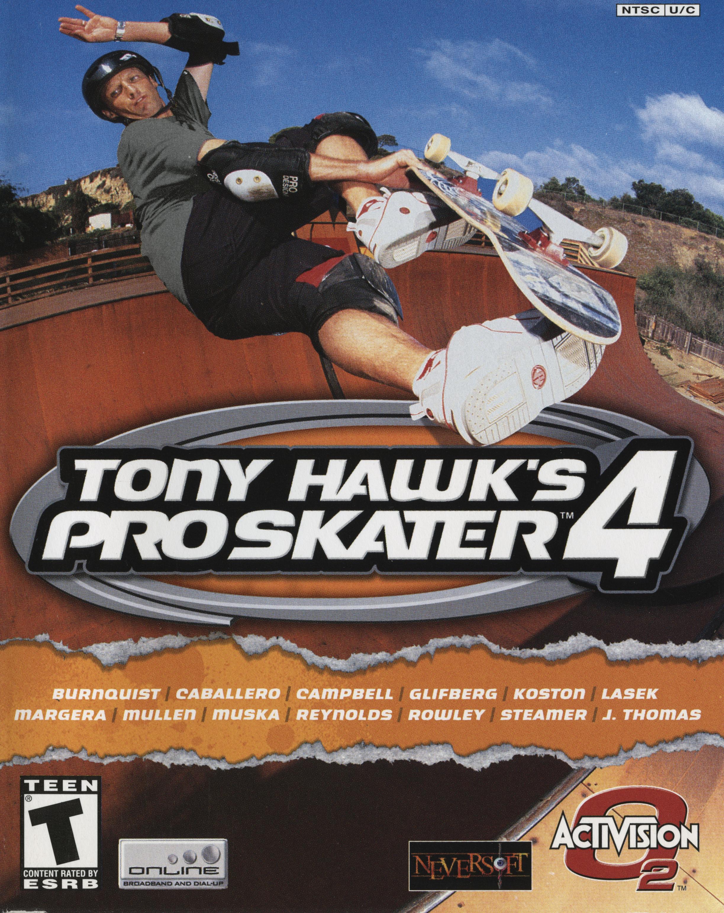 Tony Hawk's Pro Skater 4 cover