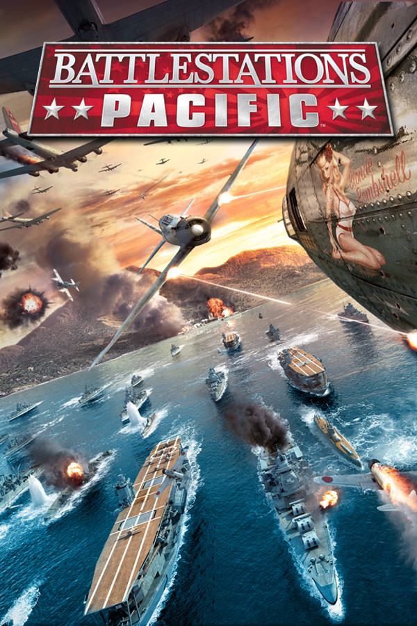 Battlestations: Pacific cover