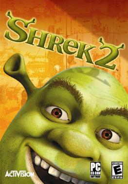 Shrek 2: The Game cover