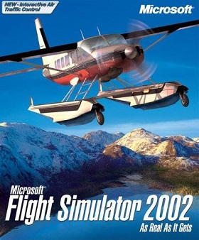 Microsoft Flight Simulator 2002 cover