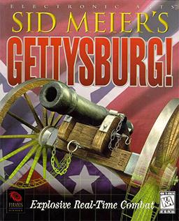 Sid Meier's Gettysburg! cover