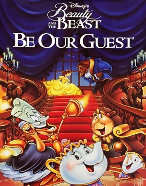 Beauty and the Beast: Be Our Guest cover