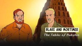 Blake and Mortimer: The Tables of Babylon cover