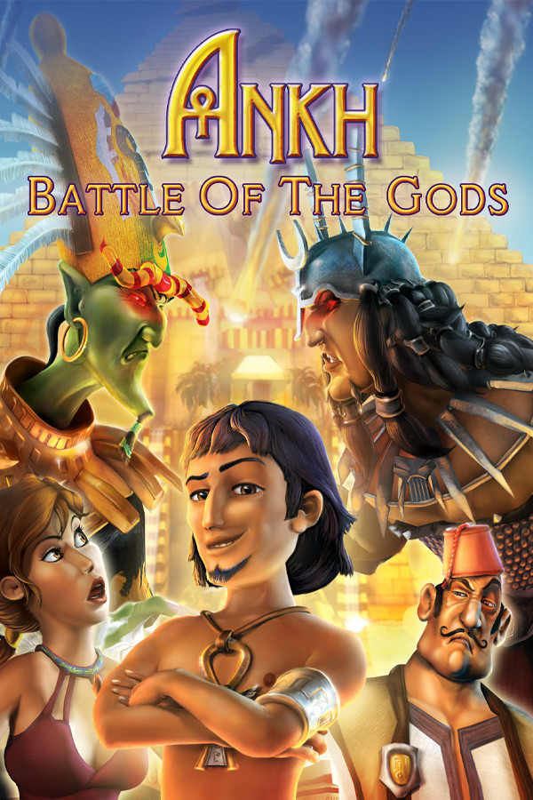 Ankh: Battle of the Gods cover