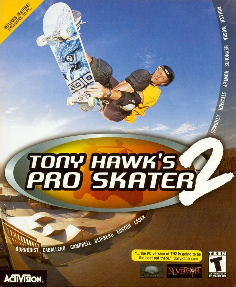 Tony Hawk's Pro Skater 2 cover