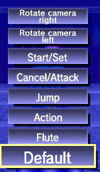 In-game controller remapping from the pause menu.