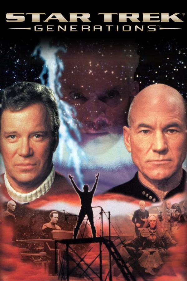 Star Trek: Generations cover
