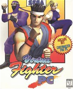 Virtua Fighter PC cover
