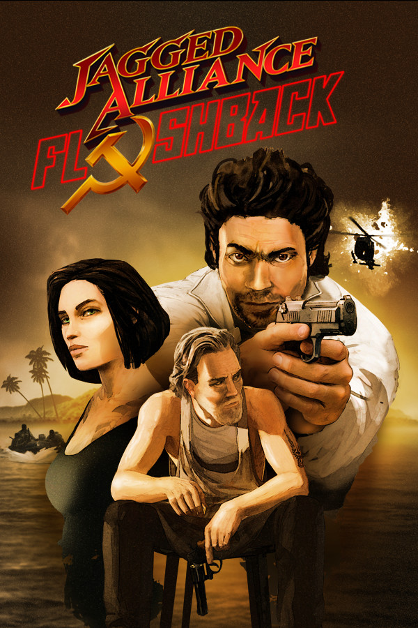 Jagged Alliance Flashback cover