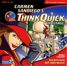 Carmen Sandiego's ThinkQuick Challenge cover
