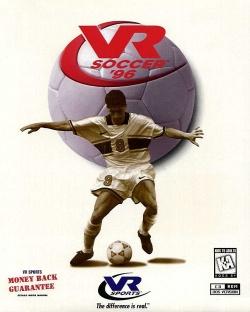 VR Soccer '96 cover