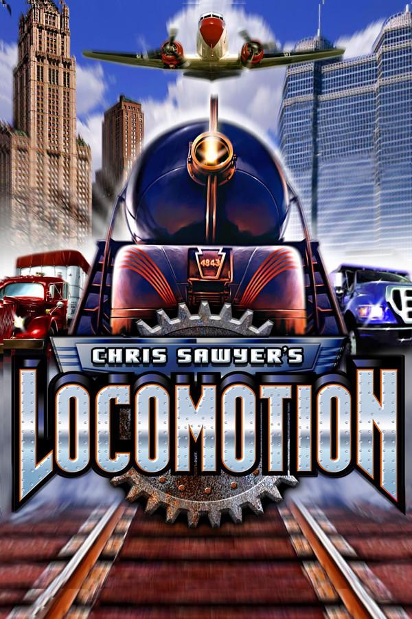 Chris Sawyer's Locomotion cover