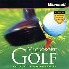 Microsoft Golf 3.0 cover