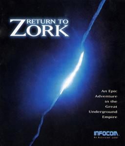 Return to Zork cover