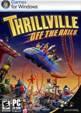 Thrillville: Off the Rails cover