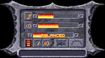 General settings (CD version).