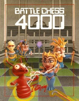Battle Chess 4000 cover