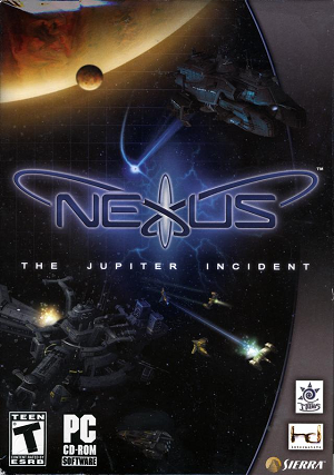 Nexus: The Jupiter Incident cover