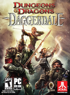Dungeons & Dragons: Daggerdale cover
